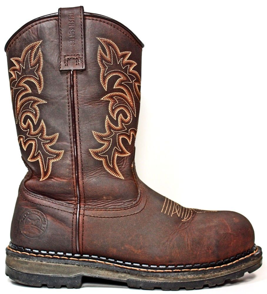 RED WING Irish Setter Ramsey Wellington Safety Toe Work