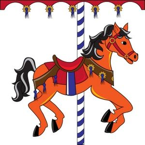 Free clip art carousel horse | Carousel Horse Clipart Image ...
