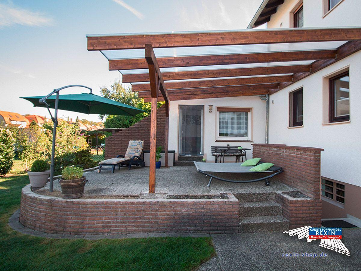 Ein HolzTerrassendach der Marke 5m x 5m in