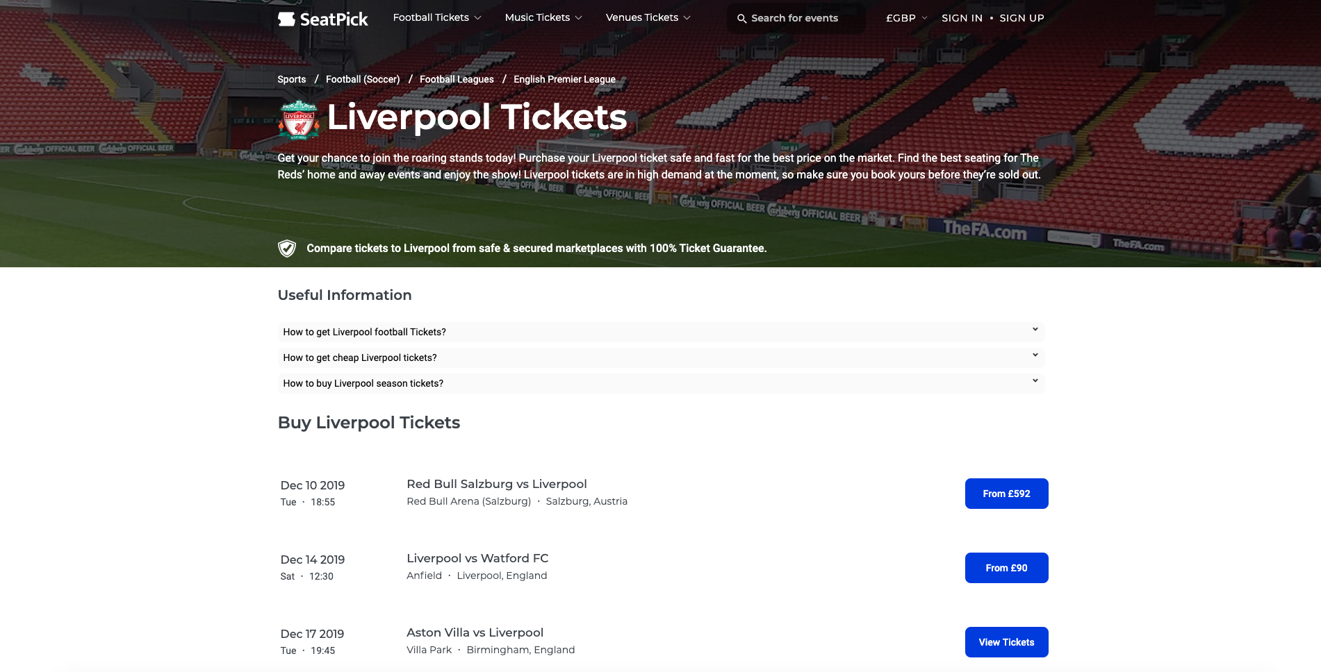eeea8768a53260396893964adfc84320 - How To Get Liverpool Tickets Without Being A Member