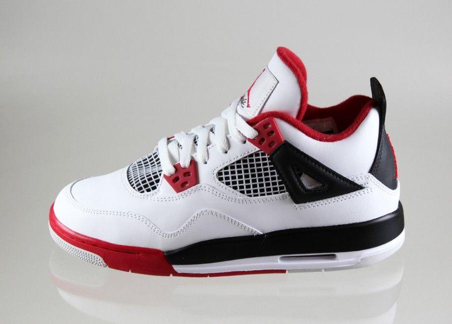 Nike Air Jordans Rot