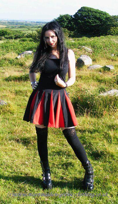 Ultra Insert Mini Dresssby Moonmaiden Gothic Clothing UK