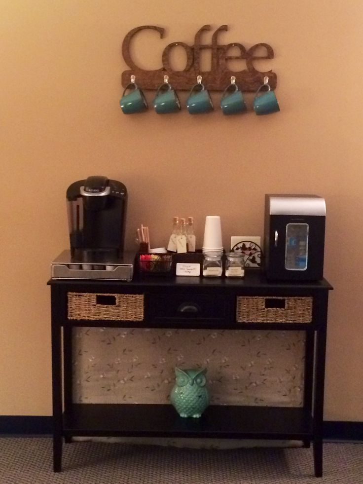 pleasing coffee bar for office. Come Check Out My New Office  spaces Spaces and designs I ve Been A Busy Woman