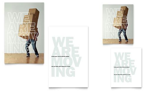 we re moving note card template design cards card templates