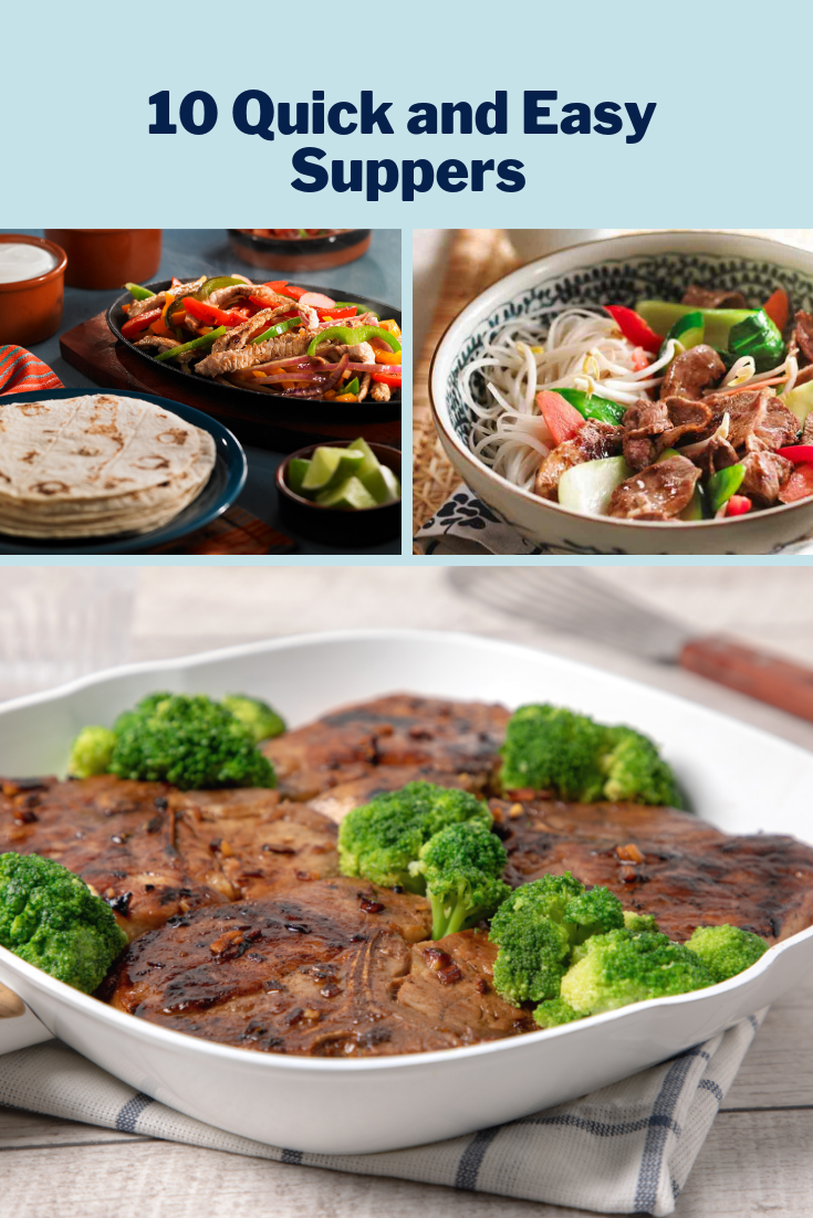 10 Quick and Easy Suppers images