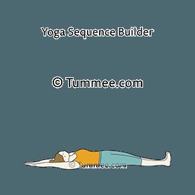 Full Body Stretch Pose Yoga Supta Utthita Tadasana Yoga Sequences Benefits Variations And Sanskrit Pronunciation Tummee Com In 2020 Full Body Stretch Body Stretches All Yoga Poses
