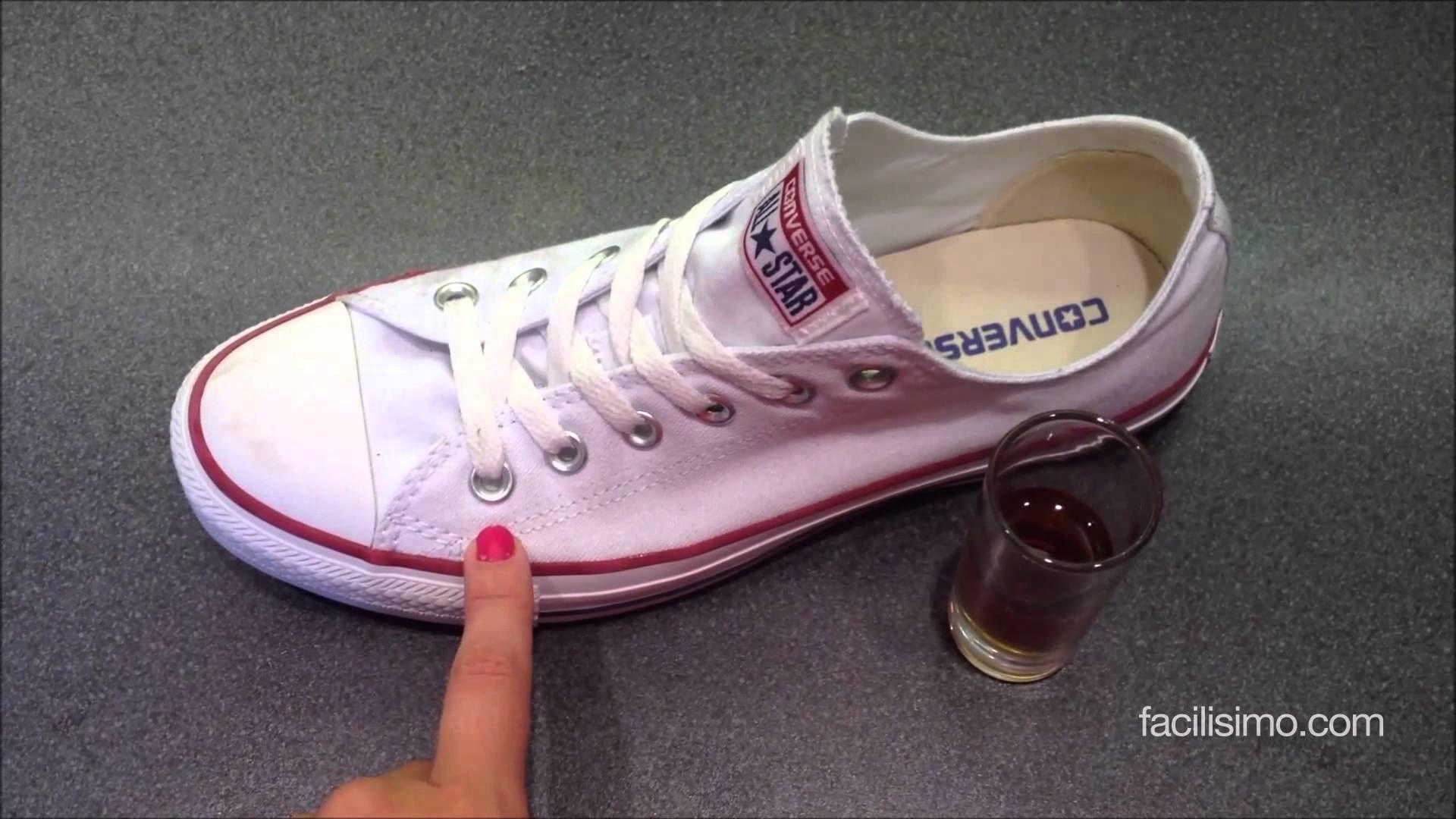 Cómo blanquear zapatillas de deporte | facilisimo.com