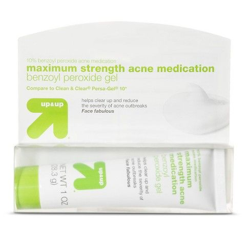 Max Strength Acne Medication 1oz Up Up Acne Medications Acne Acne Control