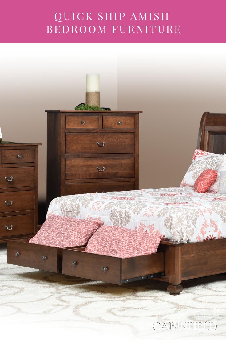 Quick Ship Amish Bedroom Sets Amish Furniture Bedroom Furniture