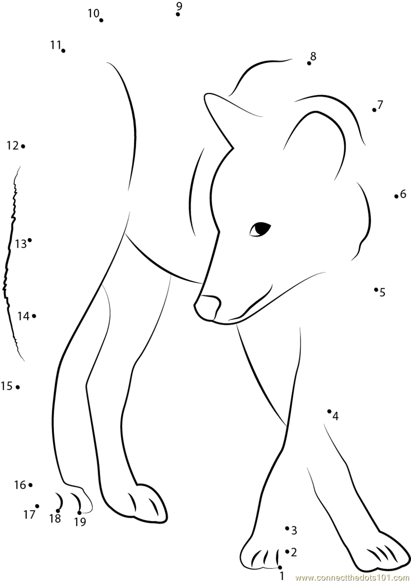 grey wolf dot to dot printable worksheet connect the dots toddler worksheets animal worksheets