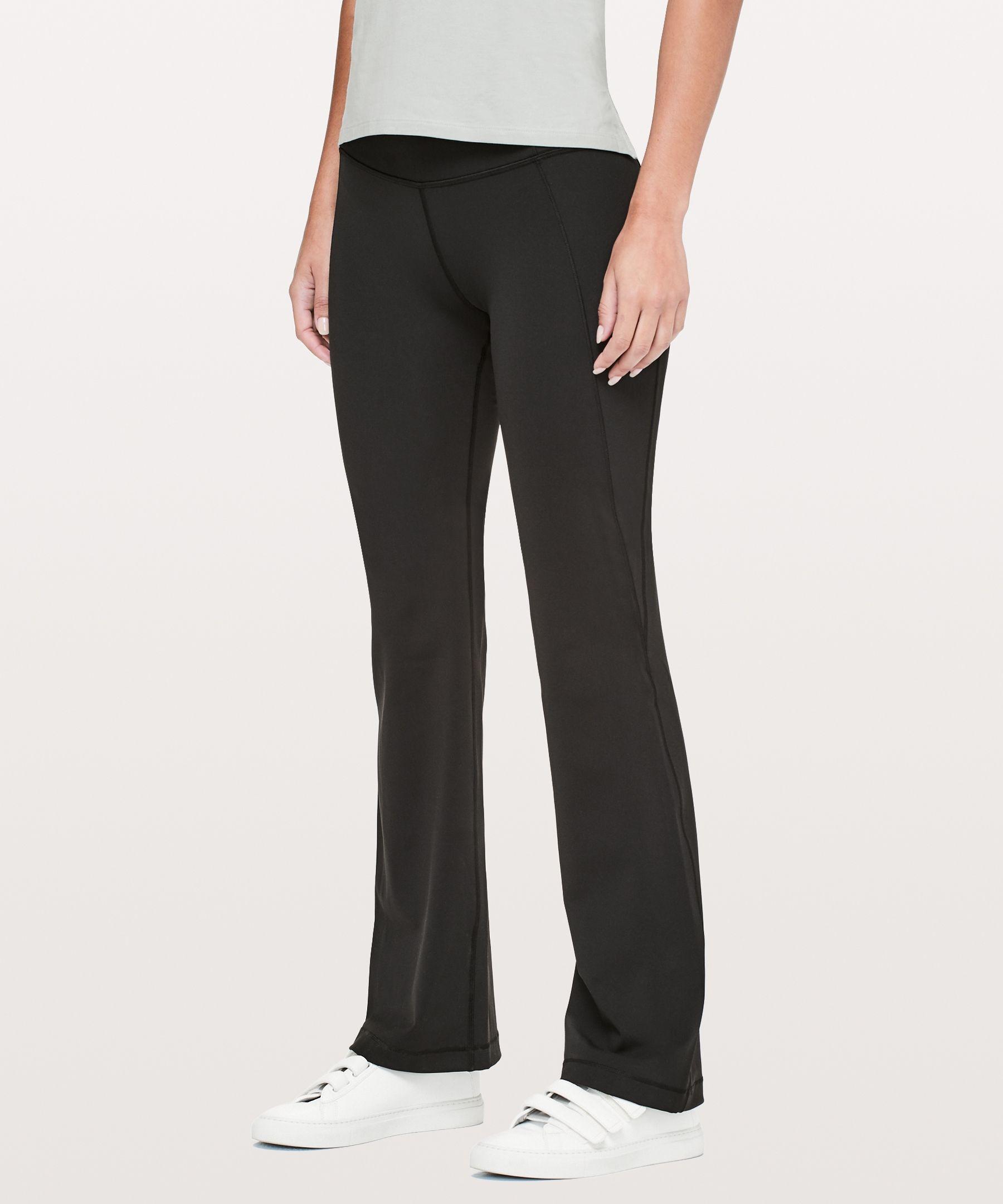2368ed4a42 Lululemon Groove Bootcut Want Love Pinterest Pants For Women