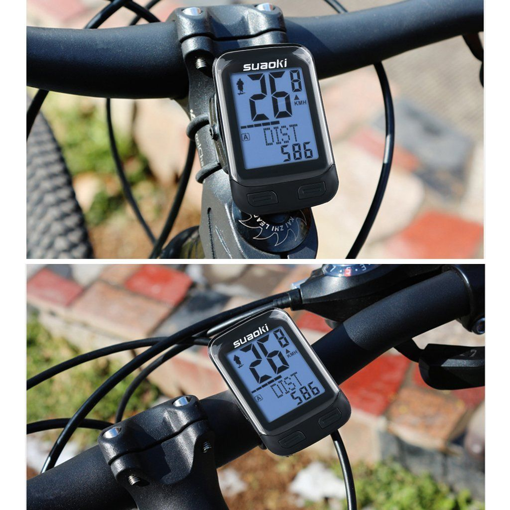 Gifts For Cyclists Bike Cycling Computer With Cadence Sensor