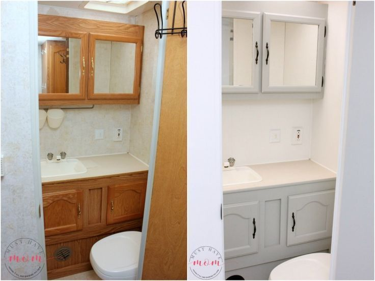 Easy RV Makeover With Instructions To Remodel RV Interior, Paint RV Walls,  Paint 2 Tone Kitchen Cabinets! LOVE!! #rvinterior #camperremodel |  Pinterest ...