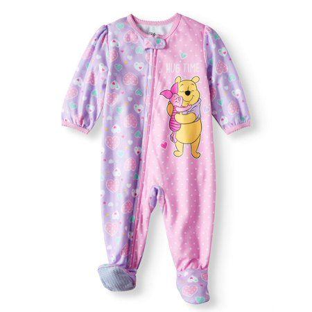 3cbaf171a Microfleece Footed Blanket Sleeper (Baby Girls)