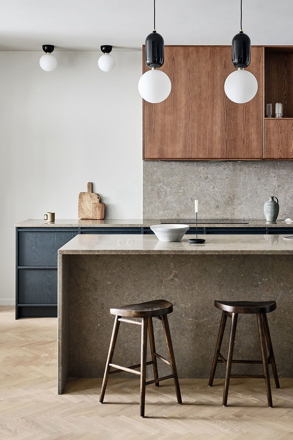 Innenarchitektur Cuisine Design Küchen   Olina Stahl Küchenmöbel