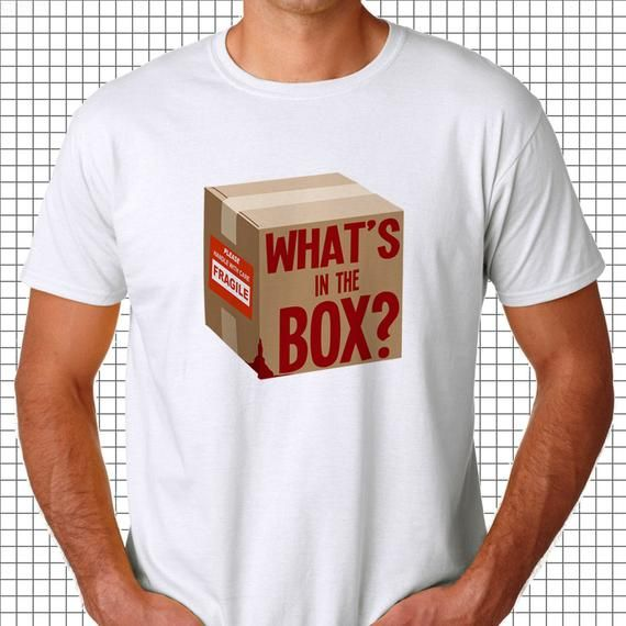 What's in the Box Tee, Creative tshirt, awesome movie quotes, epic movie quotes, quotes from films,f #epicmovie