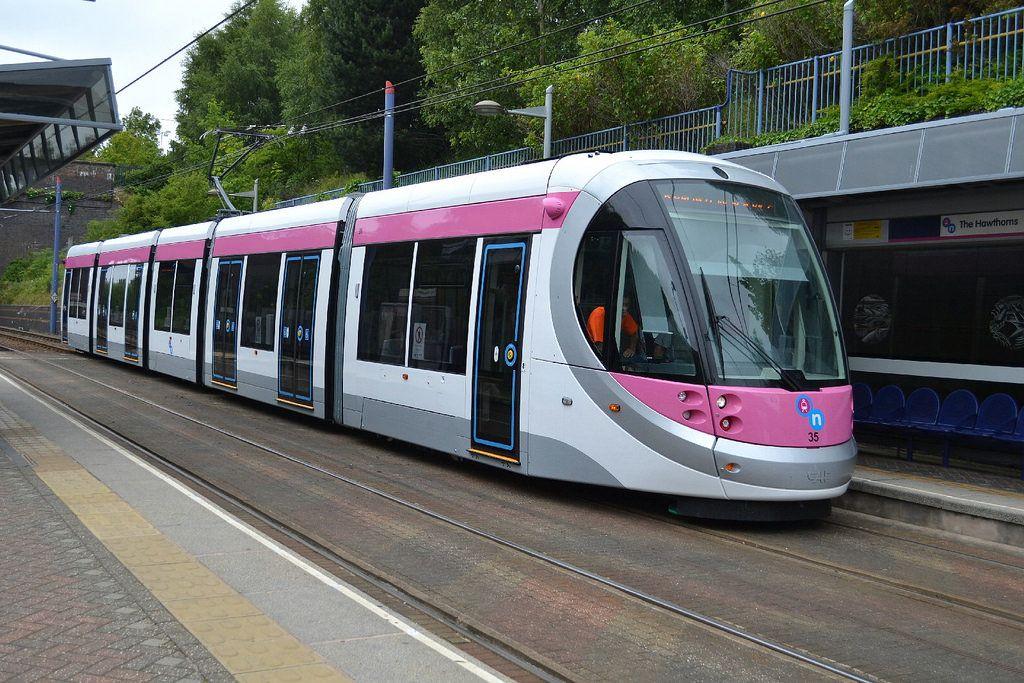 Midland Metro Tram 35 - The Hawthorns, West Bromwich