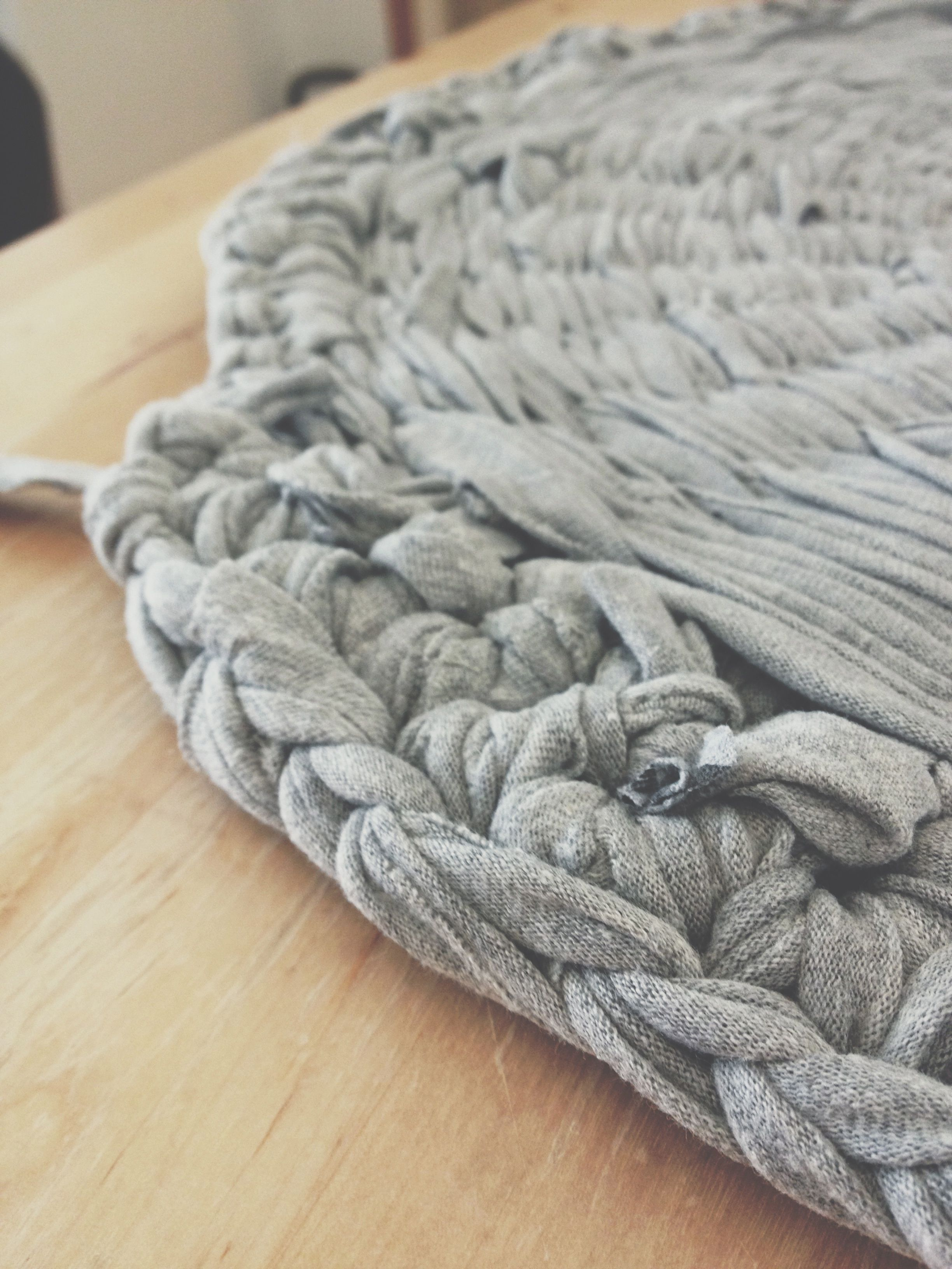 Diy How To Make A Rag Rug Craft Ideas Pinterest