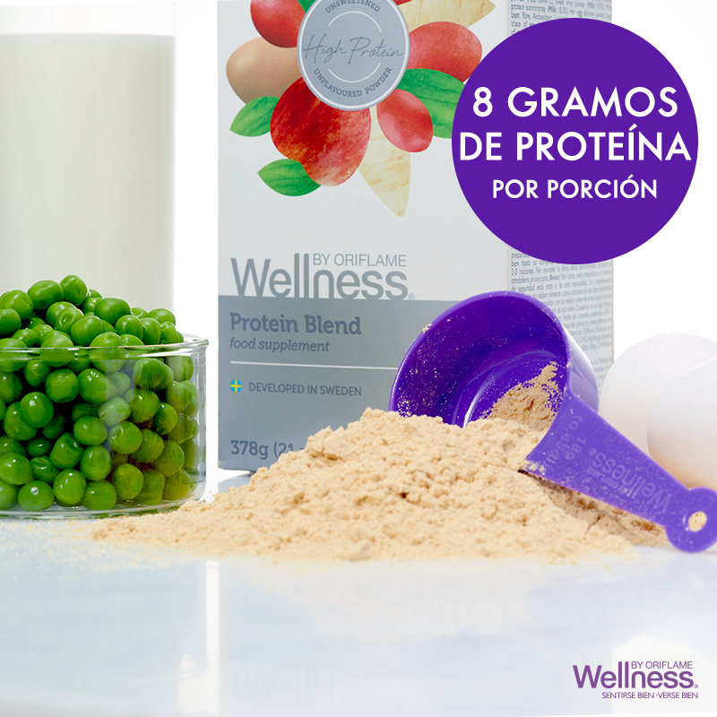 agrega mas nutricia n a tu dieta diaria con el nuevo protein blend wellnessbyoriflame a