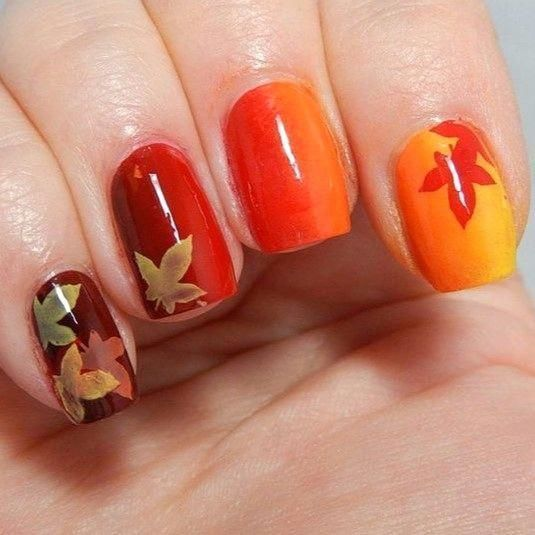 24 Unique Fall Nail Colors Ideas to Try – #ArtistsNails – 24 Unique Fall Nail …