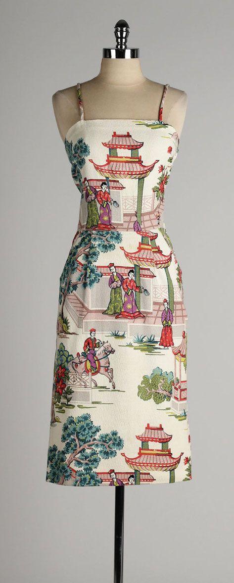 Asian print dresses pic 212