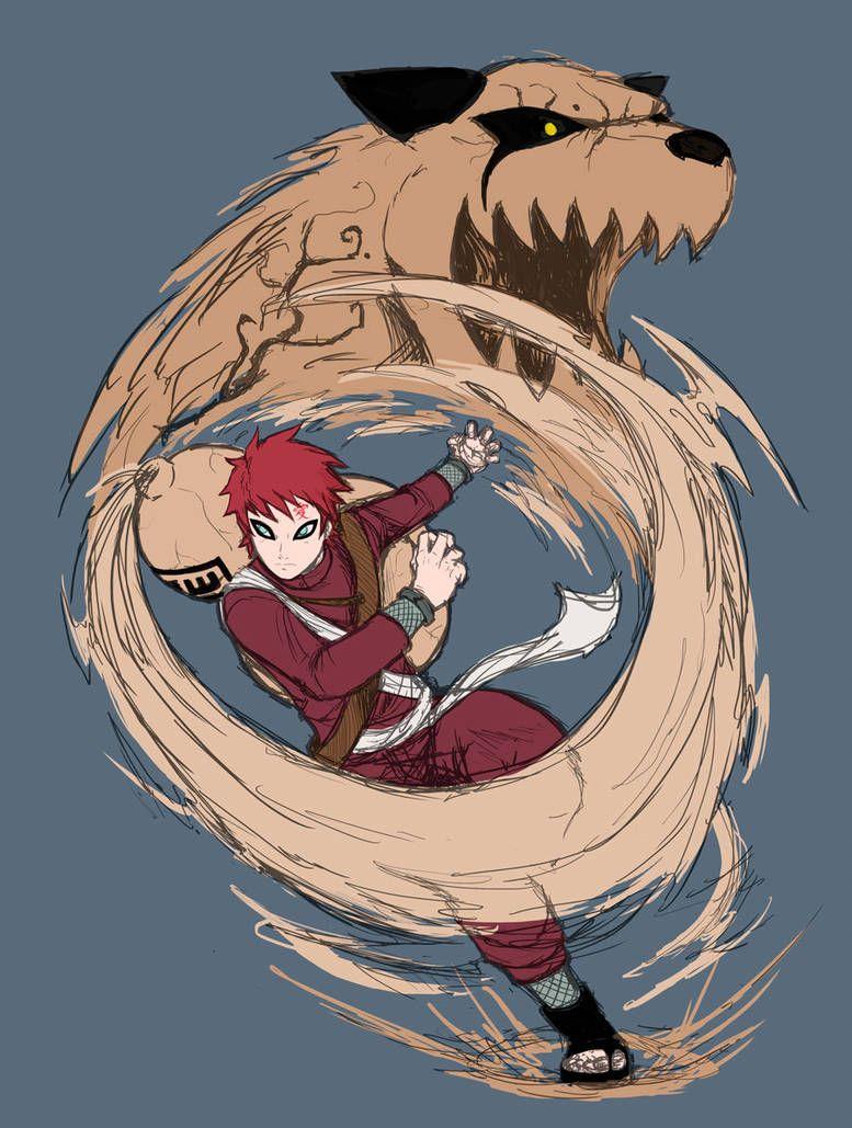 Tanuki by Fenrislord Naruto shippuden anime, Naruto