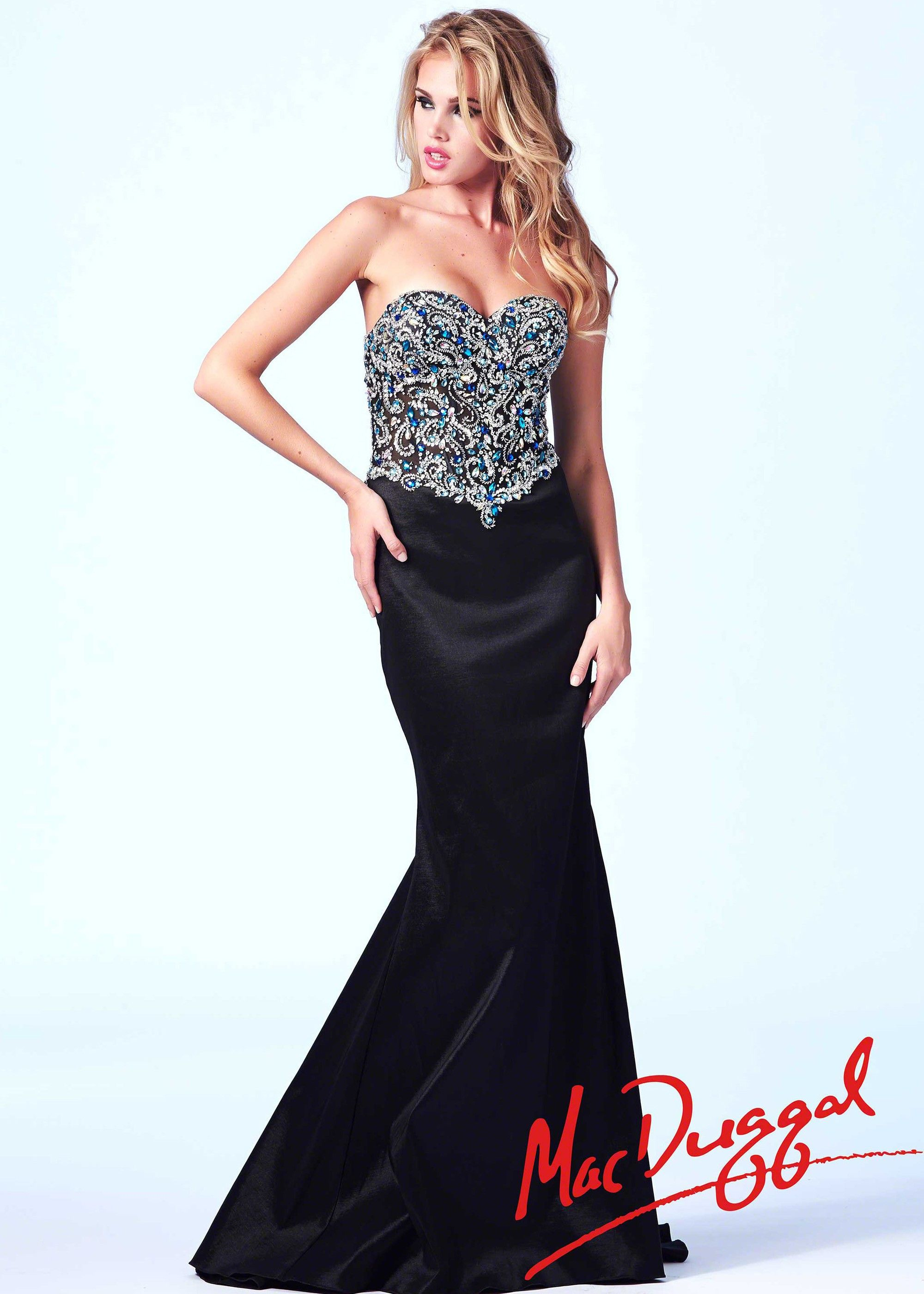 Mac duggal a strapless mermaid dress dresses dresses dresses
