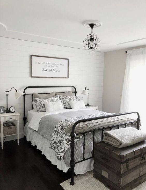 Black And White Ticking Striped Linen Duvet Cover Farmhouse Bedroom Decor Farm House Living Room Home Decor Bedroom