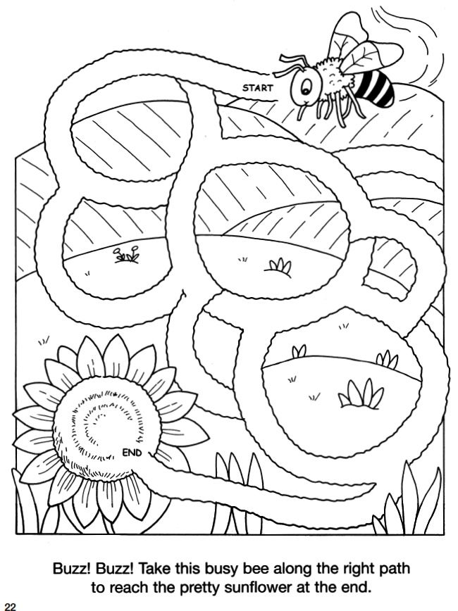 Welcome to Dover Publications Animal Friends Mazes 2