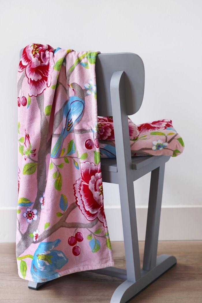 681f0452a5a PiP Morning Glory Handdoek Roze | Bathroom accesories - Handdoeken ...