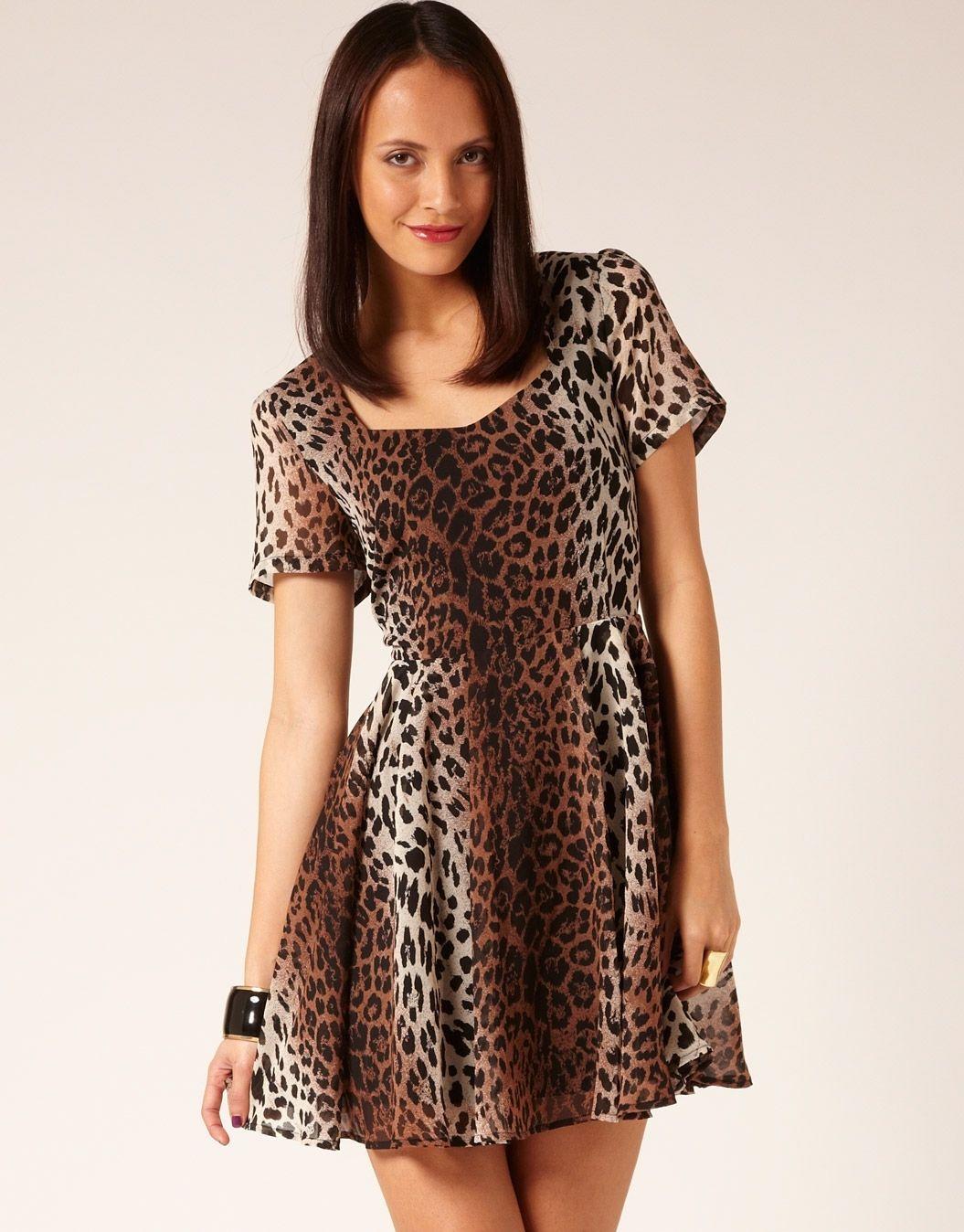Glassons - Animal Print Dress ($49.99) | Ropas | Pinterest | Animal ...