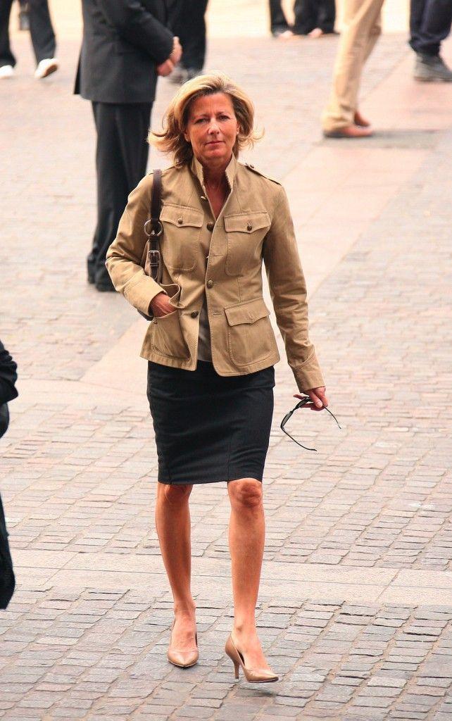 looks de claire chazal   retour sur le cv fashion de la reine de l u0026 39 info