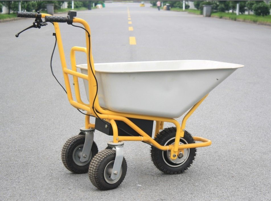 Heavy Duty Wheelbarrow Hg 203 Electric Dump Cart Pinterest