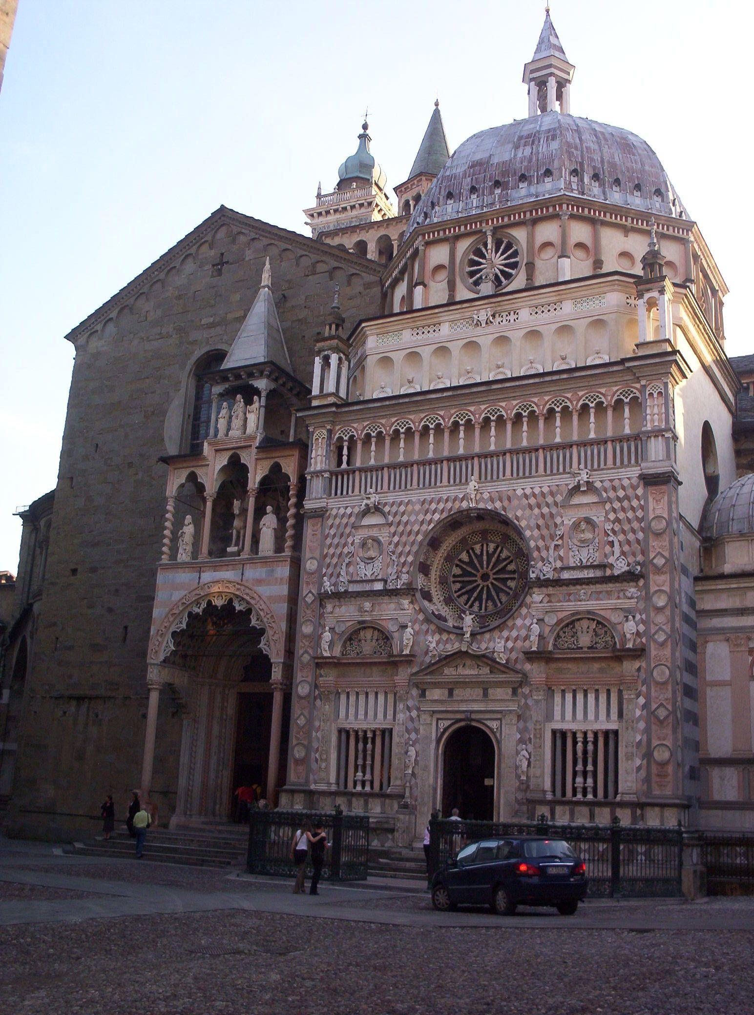 Santa maria maggiore e cappella colleoni bergamo italy for Idee architettura interni