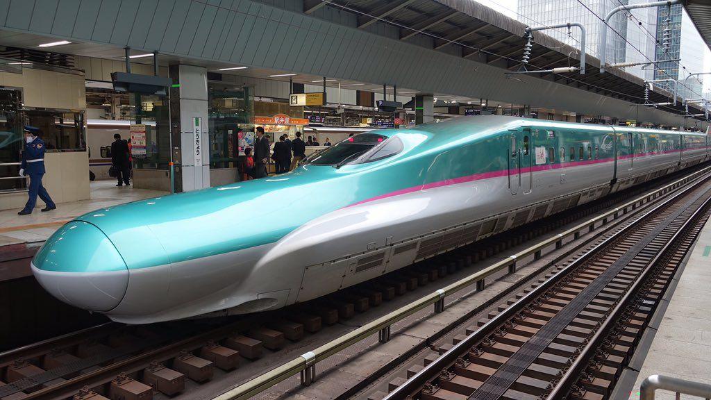 Hitachikawasaki h5 series shinkansen jr hokkaido