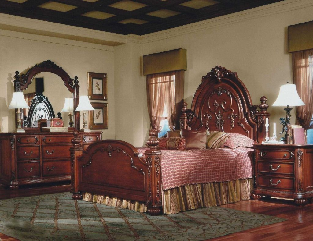 Queen Anne Bedroom Furniture Cherry For A Also Enhances The Decor Of Your Room And Is Good Investment