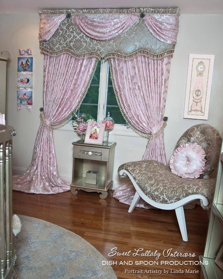 Lullaby Land Nursery Decorating Ideas: Princess Fairytale Nursery By Sweet Lullaby Interiors