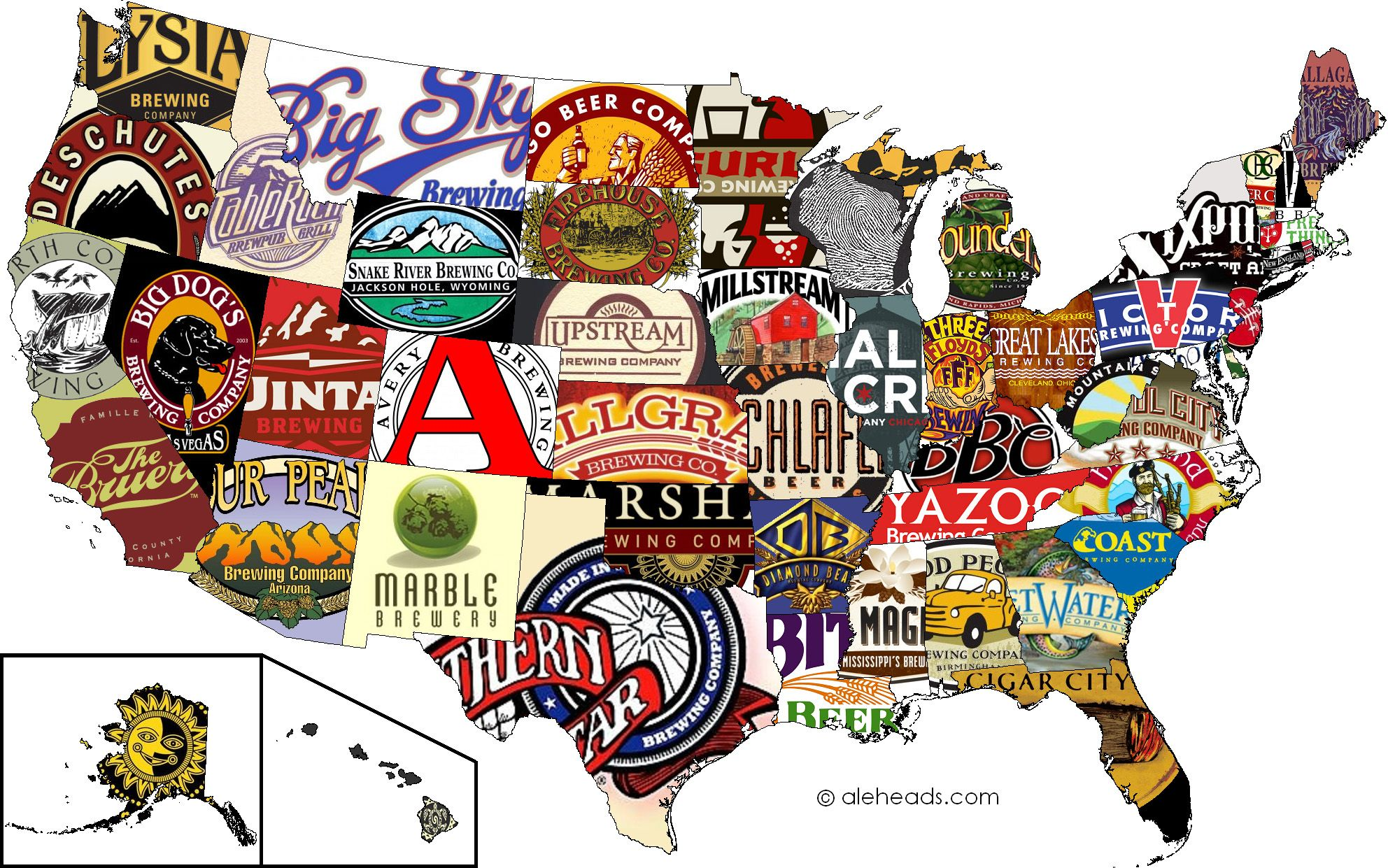 The Best Beer By State (Good arrticle ranking the best craft beers