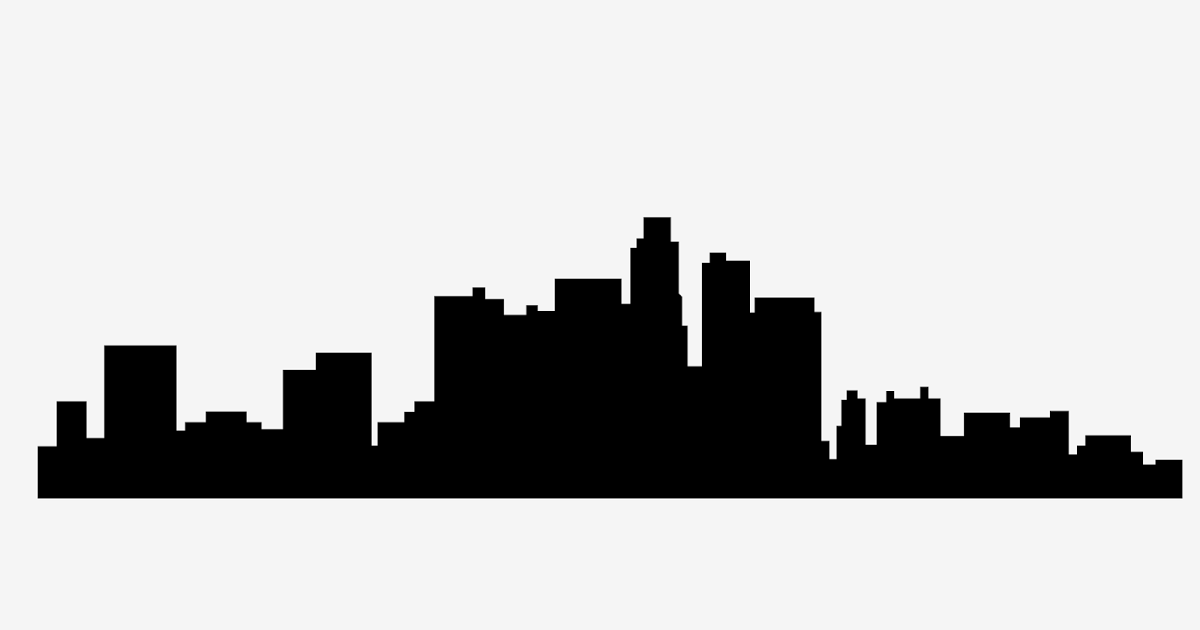 This Is A Free Svg Vector File Featuring Los Angeles Skyline Get This And Use It For Any Design The File Is An Svg Scalable Free Svg Los Angeles Skyline Svg