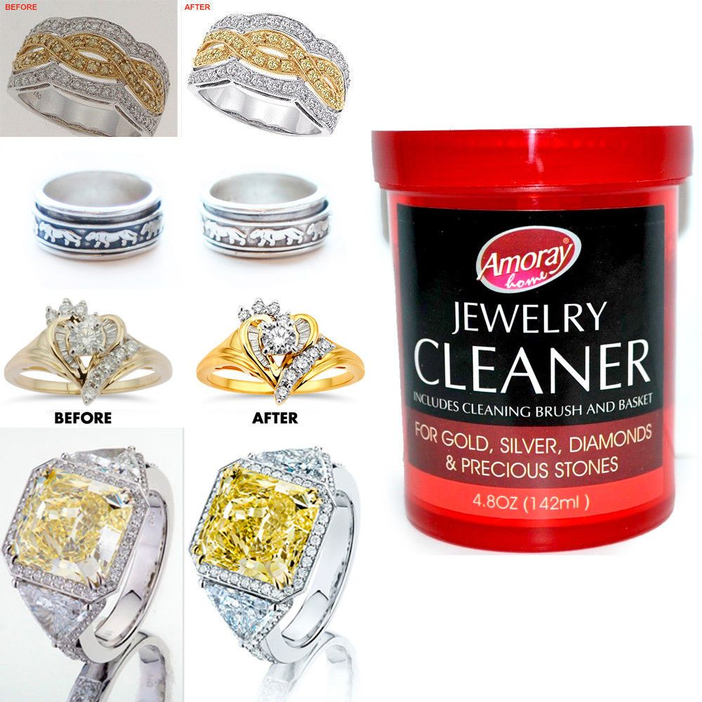 Awesome Great Jewelry Cleaner Solution Safely Clean All