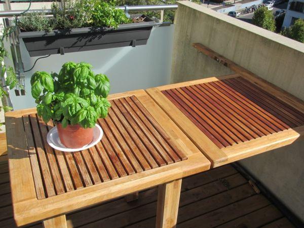 Kleine Balkons Klapptisch Moderne Einrichtungsideen Balkon Terrasse Einrichten Klapptisch Balkon Balkon Mobel Fur Kleinen Balkon