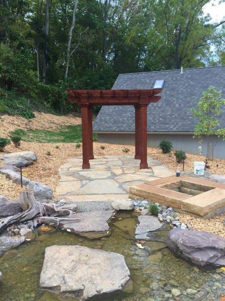 Garden fire features  Outdoor Fire Pits u Fireplaces  Pinterest  Outdoor fire and