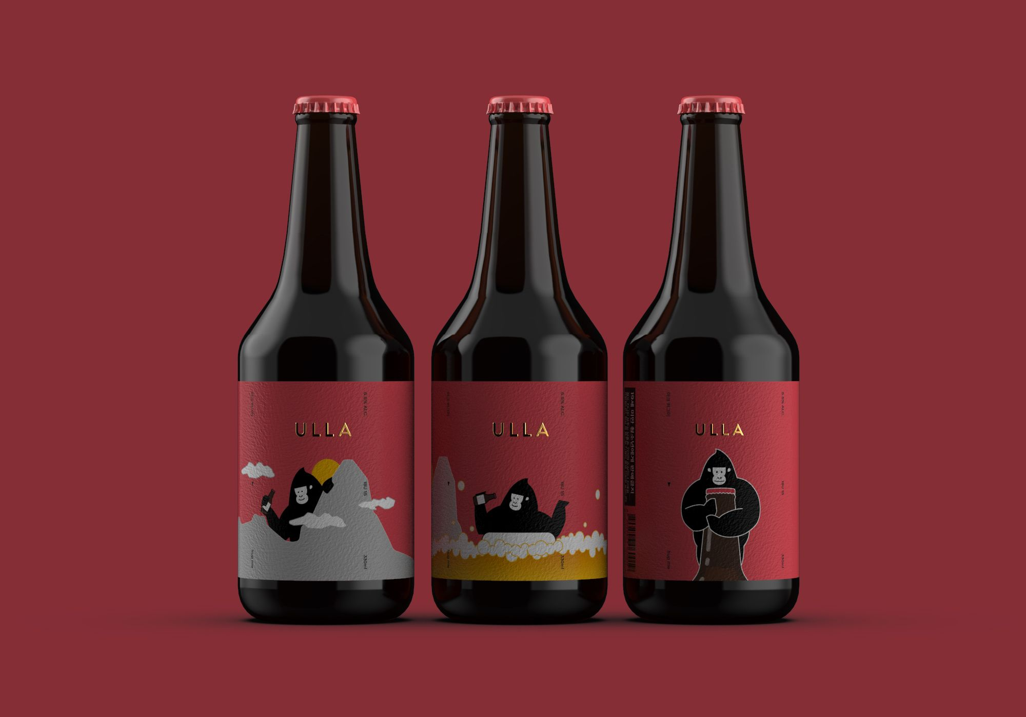 Ulla X Ark Beer Packaging On Behance Beer Packaging Beer Creative Packaging Design