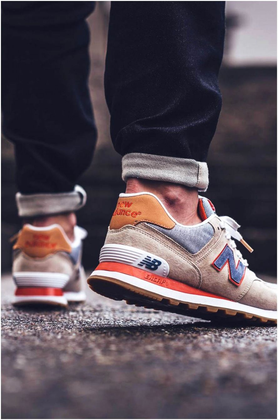 New Balance 574 Bleached Sand in 2021   Sneakers men fashion, Mens ...