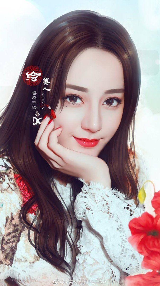 Được nhúng Gadis cantik, Gadis cantik asia, Lukisan wajah