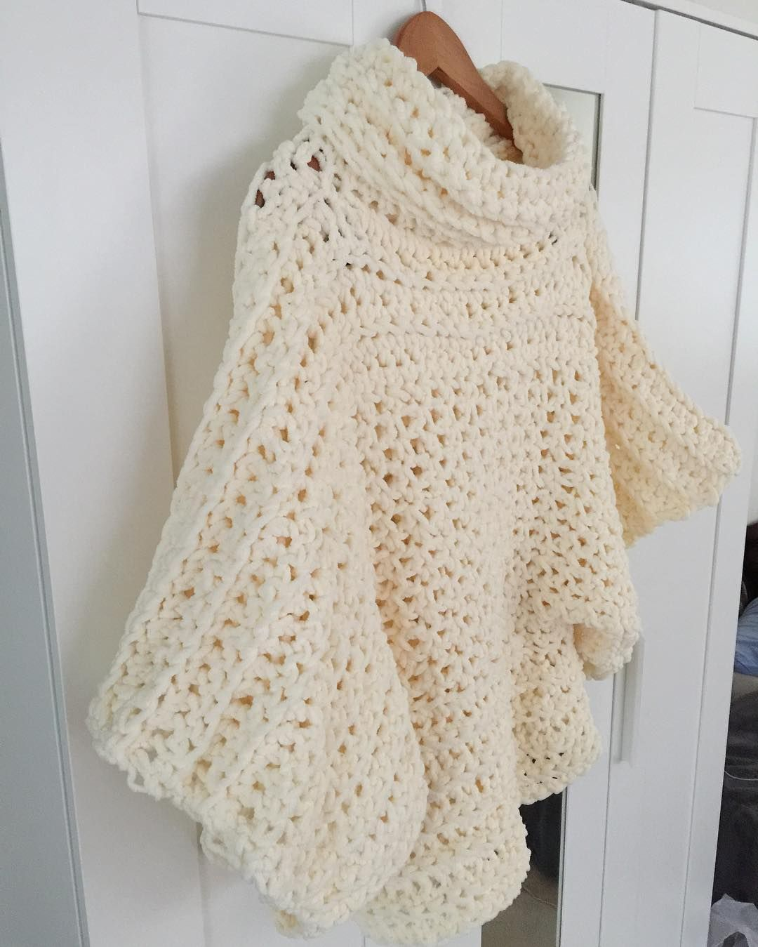 A while back I posted about a Crochet Sweater/Poncho I have been ...