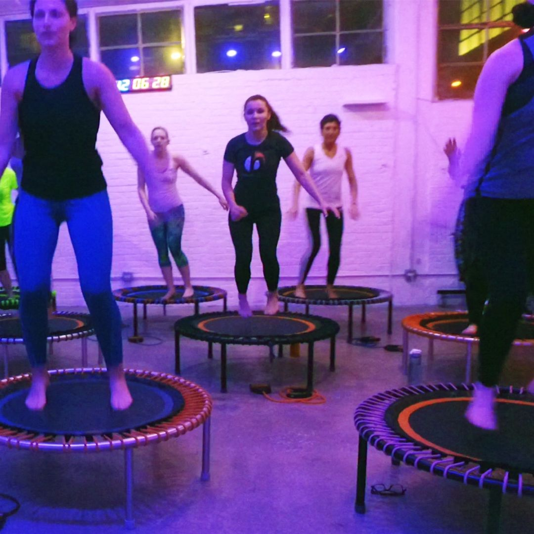 The First Bellicon Trampoline Workout From Europe Just