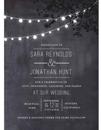 Wedding Glow Standard Wedding Invitation Walmart Com Digital Weddings Personalised Wedding Invitations Wedding Invitations