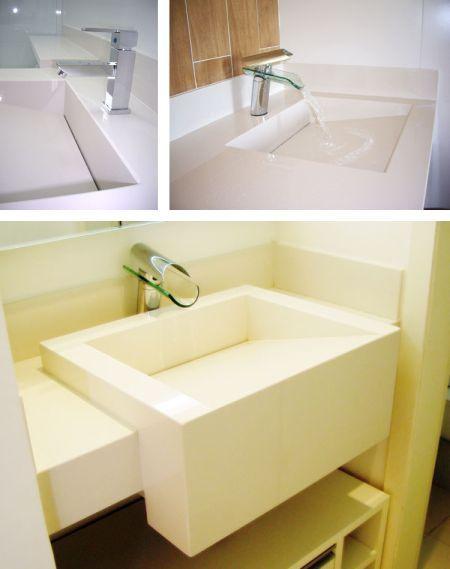 Banheiros Com Torneiras Cascata Tendencia Com Imagens