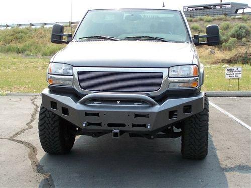 Ambush 2003 2007 Gmc 2500 3500 Front Bumper Gmc Truck Accessories Gmc 2500 Gmc